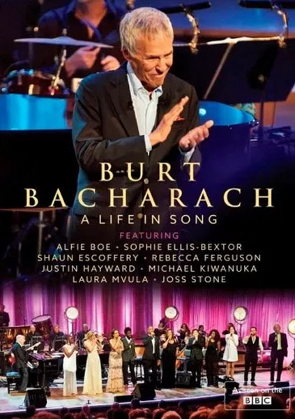 Dvd Burt Bacharach - A Live In Song